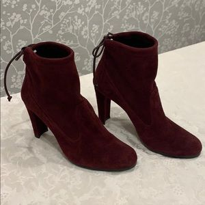 "Stuart Weitzman ankle boots, ""Mitten"", size 8.5"